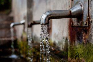 Потребление воды.