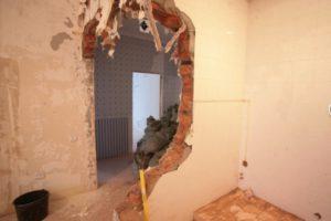 Соседи снесли несущую стену