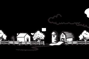 Дом с землей.